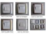 Matériel PC CE/BS certifiés couleur interrupteur mural de châssis