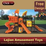 CE MATÉRIEL en plastique de plein air de jeux pour enfants Aire de jeux (12108B)