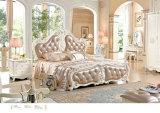 Moldura de cama de estilo francês Europa para móveis de casa (6008)
