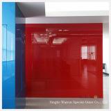 Vidro pintado vermelho com Ral 3020