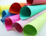 Lujoso hotel de 100% Original de pasta de madera teñida de papel Papel Handmake Color