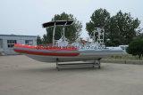 Aqualand 21.5feet 6.5m Boot van de Motor van de Rib de opblaasbare/het Duiken /Rescue Boot (RIB650B)