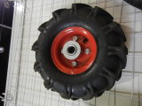 Rotella della gomma 350-8/Rubber della carriola per le rotelle di /Pneumatic del carrello per la riga della barra di rotella