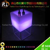 Cambio de color inalámbrica con luz LED cuadrado cubo de Champán