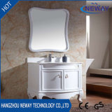 Assoalho da alta qualidade que está gabinetes do dissipador do banheiro do PVC