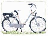 Lady ville vélo électrique avec batterie 36V12AH (CB-28N02-2)