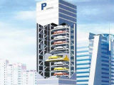 Вертикальная поднимаясь система стоянкы автомобилей