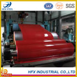 Dx51d SGCC Material de construção galvanizado pré-pintado Bobina de aço usada na folha de cobertura