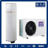 3kw 5kw 7kw 9kw Tankless pequeño calentamiento de agua Bomba de calor