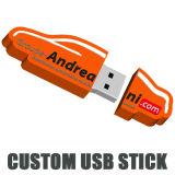 Il PVC ha modellato il USB modellato gomma del USB