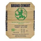 Fontes do saco do cimento, saco de selagem quente do papel de embalagem