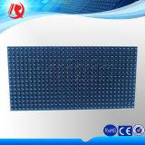 Semioutdoor esterno che fa pubblicità al singolo modulo blu della visualizzazione di LED di colore P10