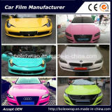 Самоклеющиеся виниловые цвета автомобиля наматывается виниловая пленка