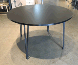 폴딩 현대 디자인 둥근 식당 테이블 없음