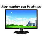 Computadora de escritorio de la PC del chipset de Intel con el monitor 17