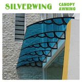 Blocco per grafici di plastica di DIY per il disegno esterno della tenda del balcone del policarbonato del baldacchino (YY-H)