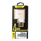 Четыре порта USB 4.2A быстрое зарядное устройство USB телефона для мобильного телефона