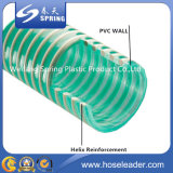 Boyau renforcé d'aspiration de l'eau de PVC de constructeur de la Chine
