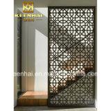 Acciaio inossidabile decorativo tagliato laser moderno Mashrabiya di disegno