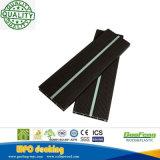 Guofeng Co-Sacó Decking compuesto plástico de madera luminoso