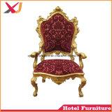 De Houten Koning en Koningin van uitstekende kwaliteit Chair Sofa voor Huwelijk