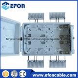 24 rectángulos de distribución al aire libre de interior de las fibras FTTH con 3 el divisor del PLC del PCS 1*8