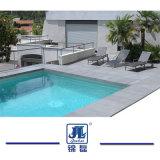 옥외 지면 벽 싱크대를 위해 극복하는 자연적인 Antiqued 백색 석회석 돌 수영장