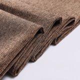 La tela del caffè osserva tessuto di tela della tenda del tessuto del sofà del tessuto da arredamento il poli