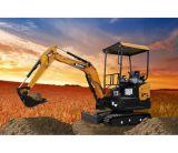 Sany Sy20c 1.85トンの構築および庭のUsegeの小型油圧クローラー掘削機