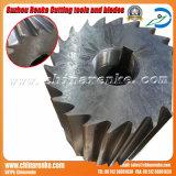 Shredder de granulagem plástico do carboneto de tungstênio