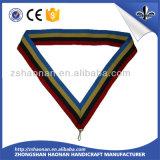 Het Lint van de Medaille van de Sport van het Ontwerp van de douane met het Embleem van het Ontwerp van de Douane