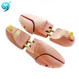 Árbol ajustado longitud popular del zapato del metal del oro del diseño