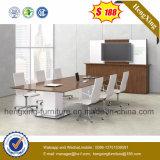 金属の足のオフィス表の木の会合の会議の机(HX-MT3925)