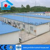 Rápida instalación de las víctimas el bastidor de acero prefabricados Home