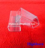 Fornecedor do encanamento de quartzo do quadrado da pureza elevada