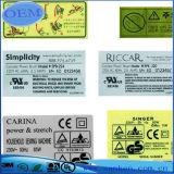 Het elektronische Etiket van de Druk van de Schakelaar