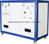 空気タンクが付いている12bar 440L/Min Oillessオイルの自由大気の圧縮機