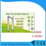 0-999 Alta sensibilidad del detector de metales caminar a través de las zonas de 33