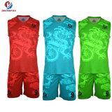 ملابس رياضيّة عالة تصميد كرة سلّة بدلة متأخّر كرة سلّة جرسيّ تصميم