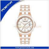 Ceramische Horloge van het Ontwerp van de Manier van de Kwaliteit van het avondmaal het Unisex-