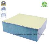 Papel de impressão sem carbónio do escritório 3-Ply barato feito sob encomenda do fabricante da fábrica