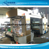 Abfall-Beutel Flexo Drucken-Maschine mit hohem Ausschuss