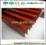 Heißer Verkaufs-elegante Aussehen-Baumaterial-Aluminiumleitblech-Decke