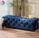 Qualitäts-Wohnzimmer-Leder/Samt/Gewebe-Sofa 1+2+3