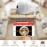 卸売360度の屋内無線WiFiの保安用カメラの電球CCTVのカメラ