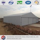Sinoacme fabrizierte hellen Stahlkonstruktion-Flugzeug-Hangar in Algerien vor