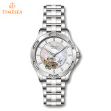 Diseñador especial regalo de diamantes automática reloj para dama71169