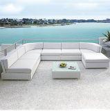 Il rattan esterno semplice /Wicker di /Hotel sezionale/ha unito la mobilia stabilita del giardino aria aperta del salotto/del sofà