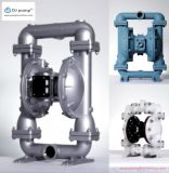 Edelstahl-Membranluftpumpe, Plastikluftpumpe für Abwasser, Abwasser und Schlamm