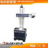 Machine portative d'inscription de laser pour le métal Fol-10